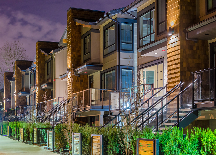 Modern Contemporary Townhome Developments Around Dc