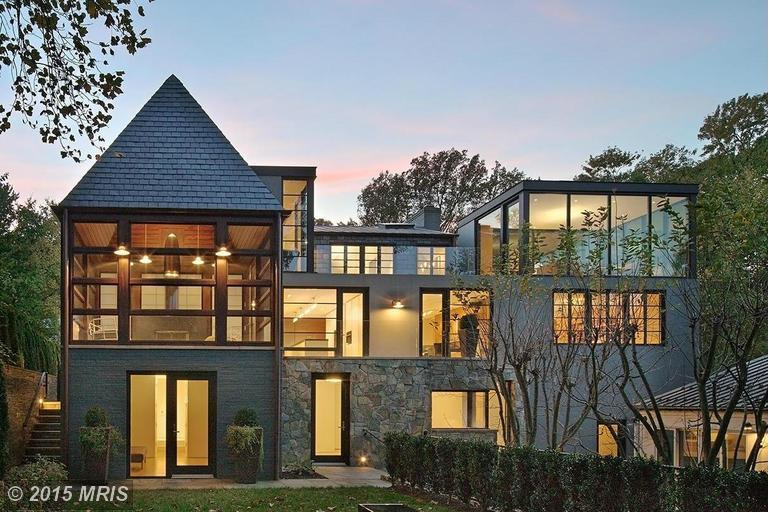 It 39 s impossible to overlook this modern gem on dc 39 s for Houses for sale near washington dc